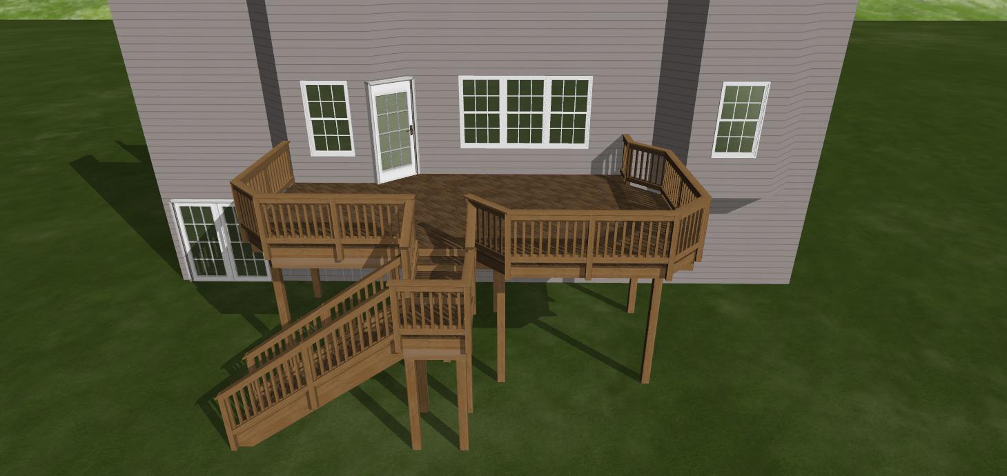 How do I design my deck?
