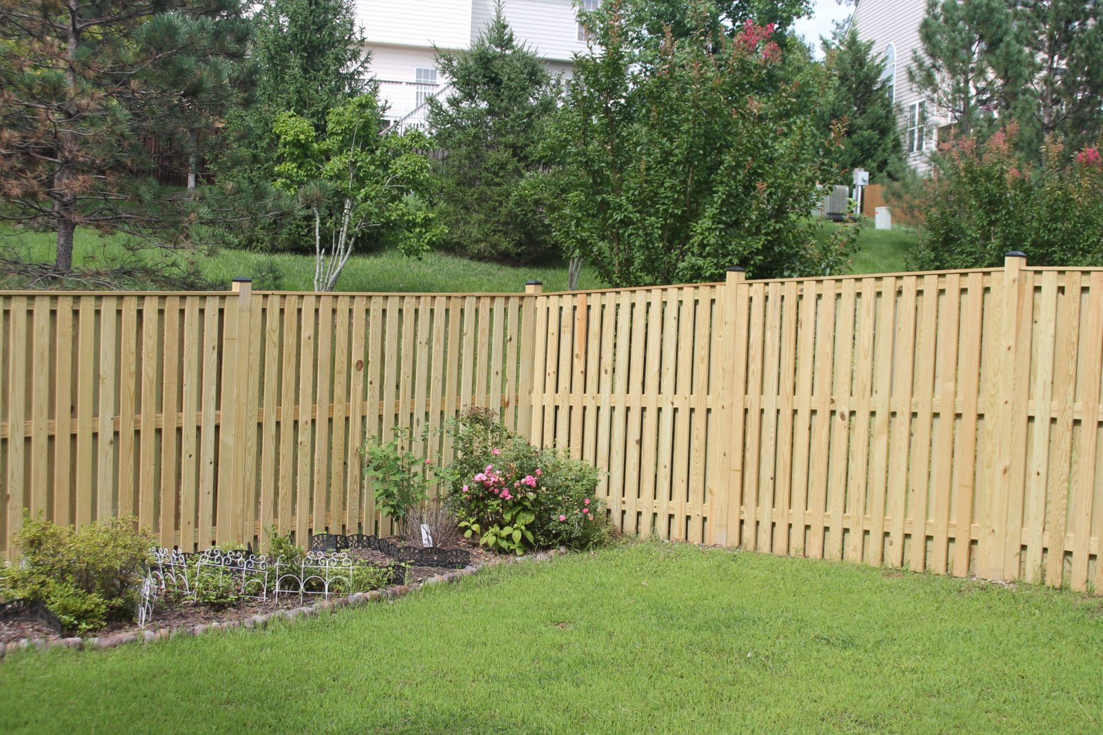 Board on Board Privacy Fence