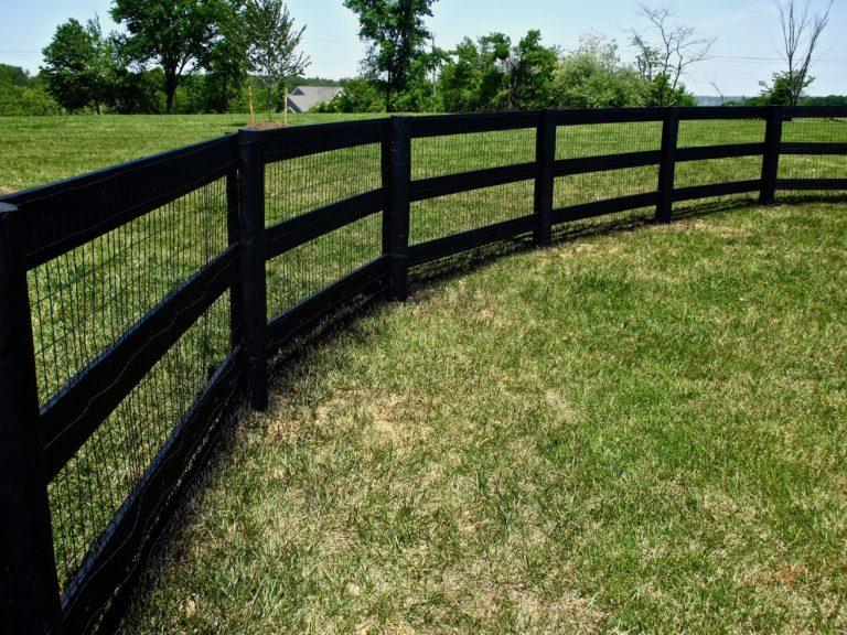 3 Board Paddock Fence