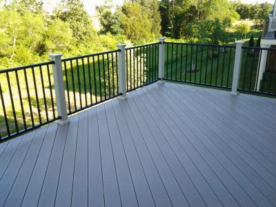 Aluminum Rail with Composite Flooring